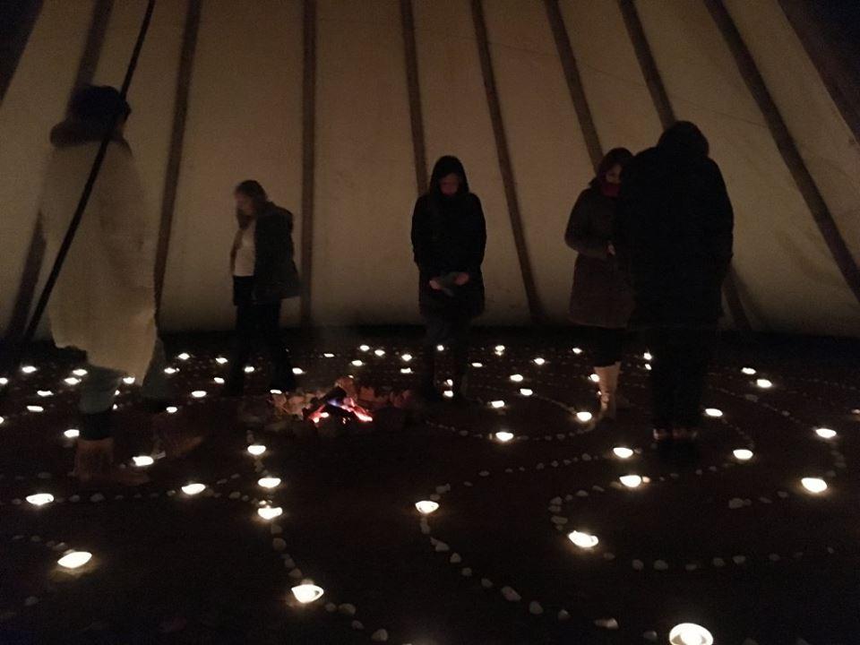 laberinto de luz
